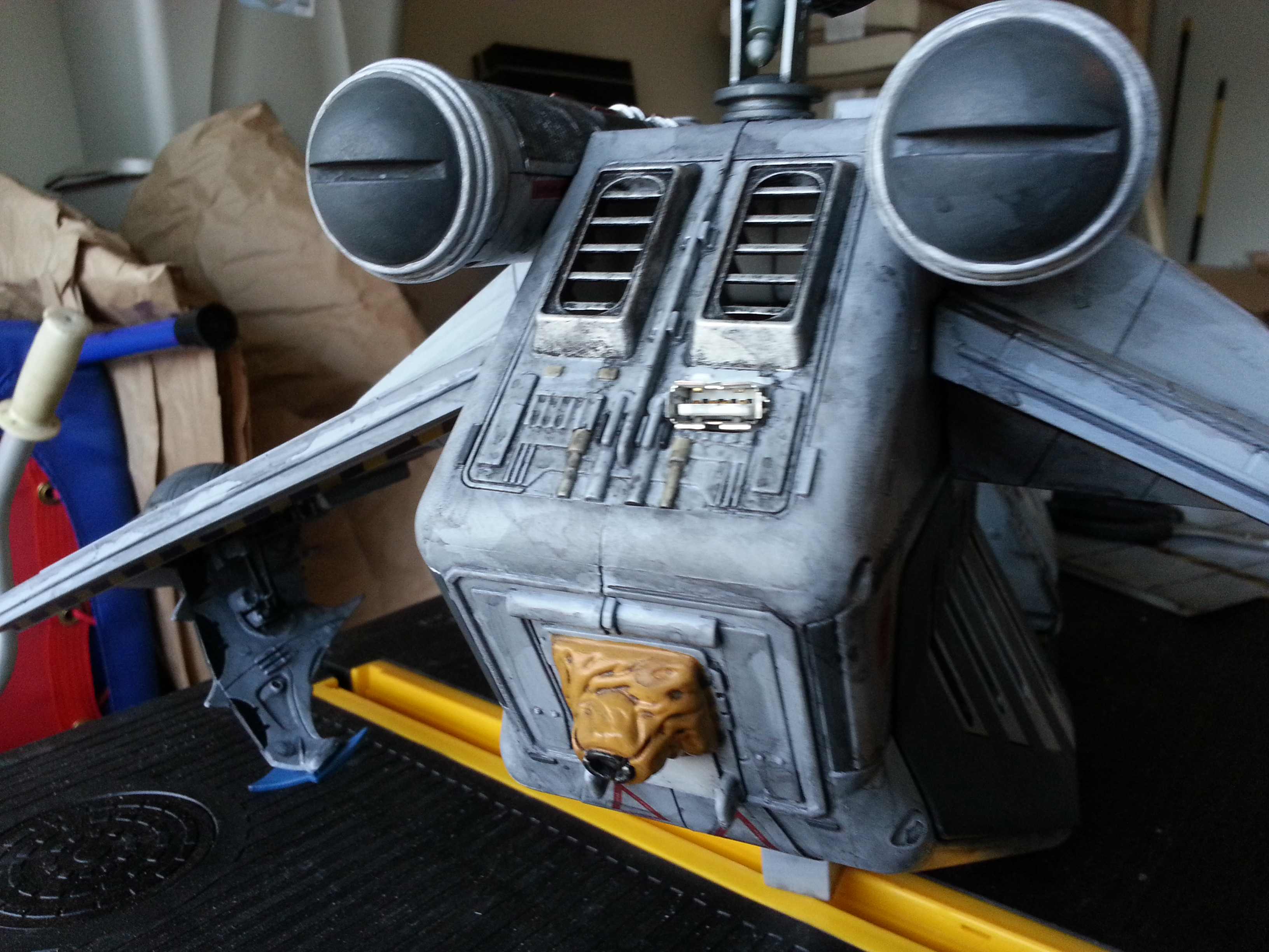 2013 Republic LAAT Gunship Update Washing!