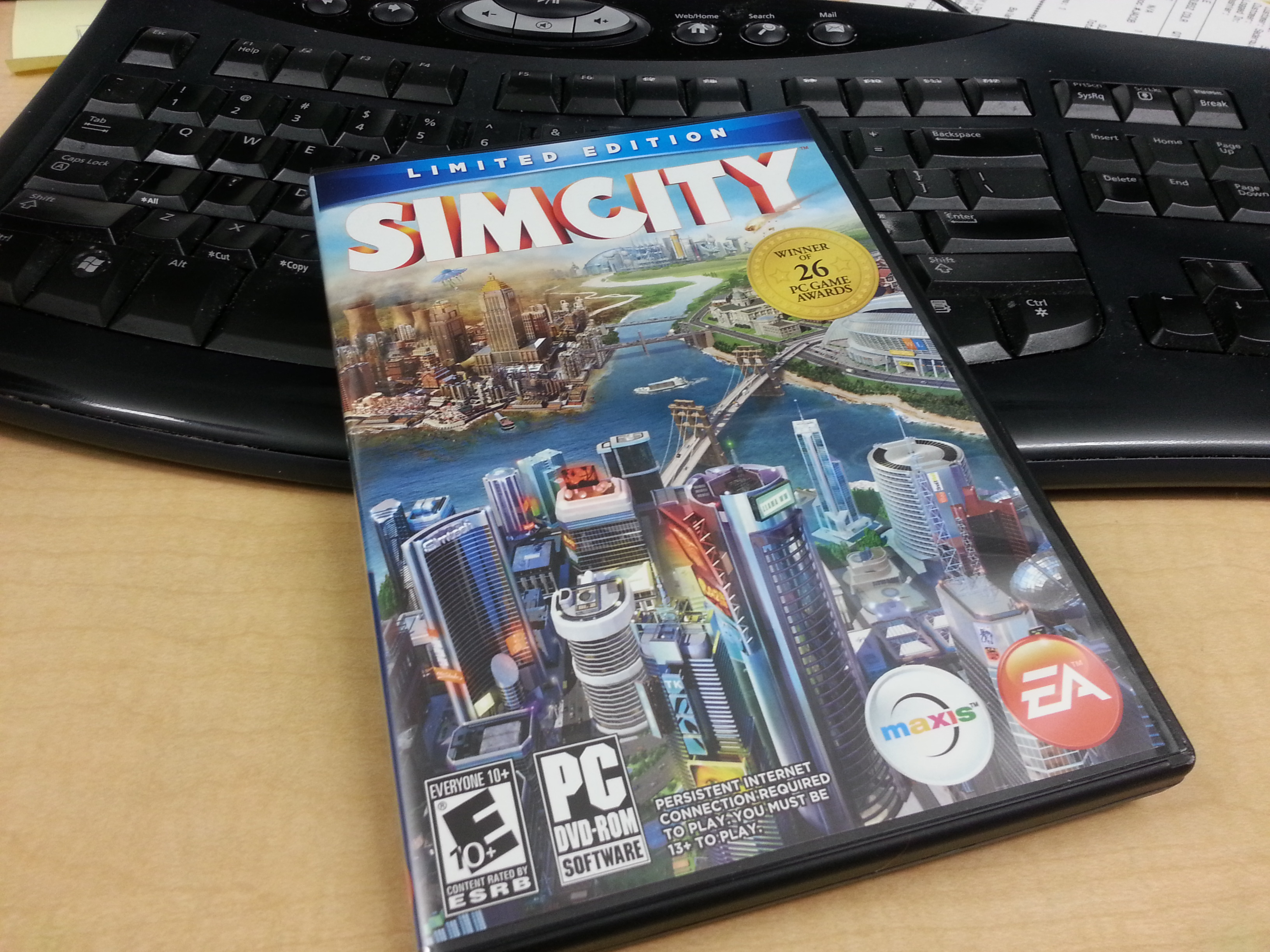 Playing the new SimCity (2013)